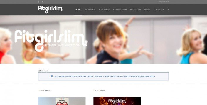 FitGirlSlim Website