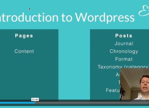 Understanding Wordpress Pages & Posts