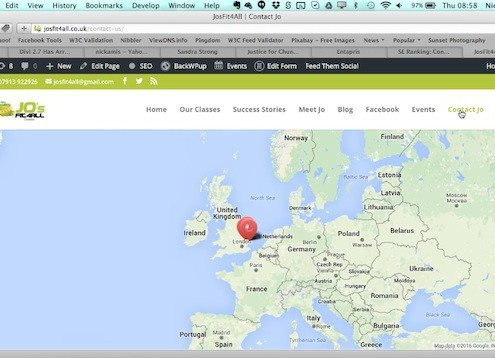 Elegant Themes Map Zoom Issue
