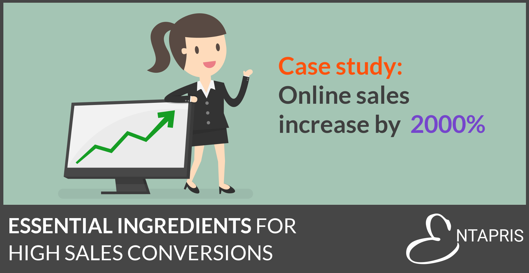 Essential ingredients for high online sales conversions