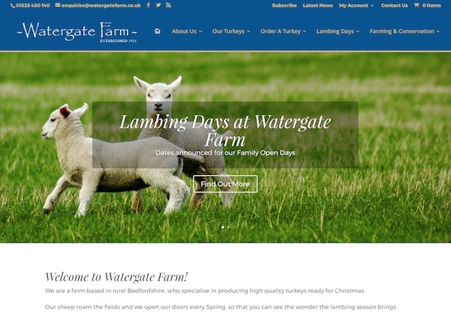 Watergate Farm Website