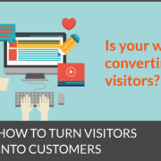 Converting website visitors into customers