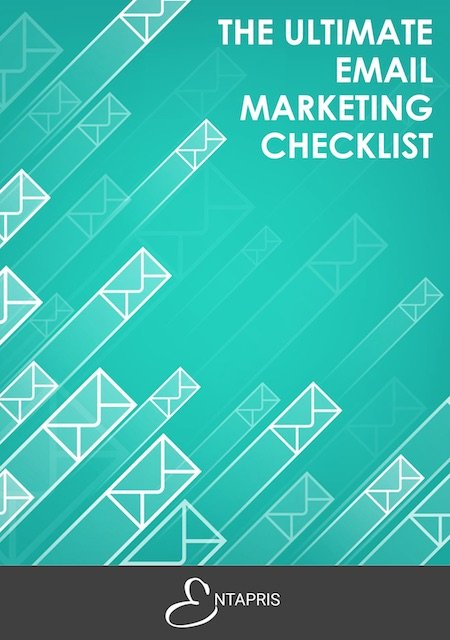 Ultimate Email Marketing Checklist Front Cover